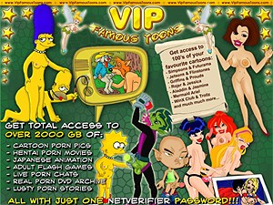 VIP Famous Toons Porn